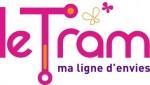 Het logo van de tram in Brest