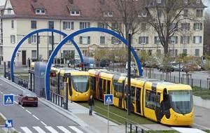 Tramhalte Mulhouse