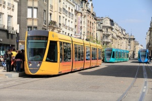 Trams in Reims