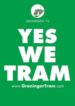 De pro-regiotram poster van GroningerTram.Com, met dank aan Alaskan van het SkyscraperCity-forum!